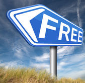 Free of charge — Stock Photo