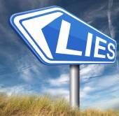 Contando mentiras — Foto Stock