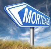 Mortgage sign — Stockfoto
