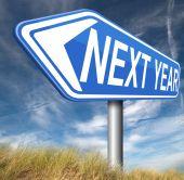 Next year — Stock Photo