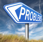 Problems solved finding solutions — Foto Stock