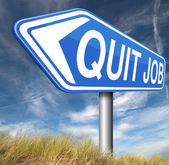 Quit job — Stock fotografie