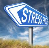 Stress free zone — Stock Photo