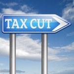Tax cut — Stock Photo #59983749