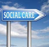 Atención social — Foto de Stock