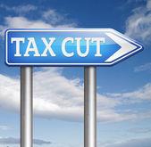 Recorte de impuestos — Foto de Stock