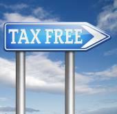 Libre de impuestos — Foto de Stock