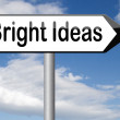 Bright ideas — Stock Photo #61726767
