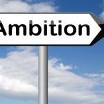 Ambition think big set — Stock Photo #61728191