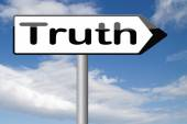 Find truth — Stock Photo