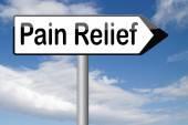 Verlichting van pijn — Foto de Stock