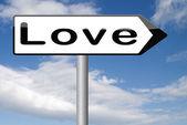 Найдите любовь — Стоковое фото