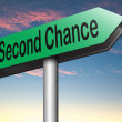 Second chance — Stock Photo #62160841