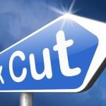 Tax cut — Stock Photo #62172035