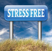 Stress free zone — Stock Photo