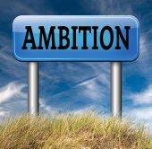 Ambition think big set — Stock Photo