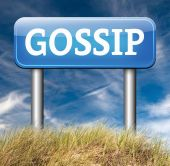 Gossip and rumors — Stock Photo