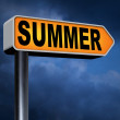 Summer time sign — Stock Photo #63932199