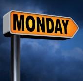 Pazartesi ertesi gün — Stok fotoğraf