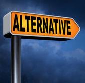 Alternative choice sign — Stock Photo