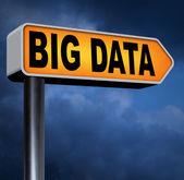 Big data sign — Stock Photo