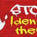 Stop identity theft — Stock Photo #66166793