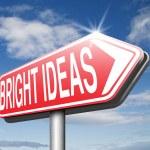 Bright ideas sign — Stock Photo #67086713