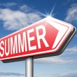 Summer time sign — Fotografia Stock  #67090633