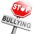 Stop bullying sign — Stock Photo #67091563