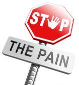 Pain killer, stop headache migraine — Stock Photo
