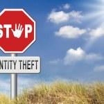 Stop identity theft — Stock Photo #69826727