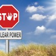 No nuclear power sign — Stock Photo #69827363