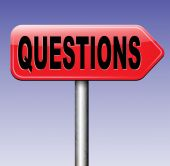 Questions road sign — Stock Photo