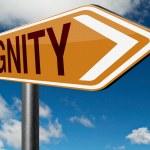 Dignity self esteem — Stock Photo #73974455