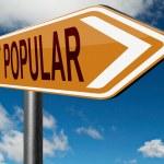 Постер, плакат: Most popular sign