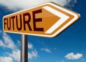 Bright future sign — Foto de Stock
