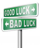 Good luck or bad luck — Stock Photo