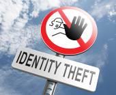 Stop identity theft — Stock Photo