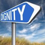Dignity self esteem — Stock Photo #76447335