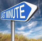 Last minute letenky — Stock fotografie