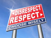 Respect different opinion — Stock Photo