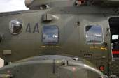 Side of an AgustaWestland AW101 Merlin Helicopter — Stock Photo
