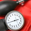 Sphygmomanometer blood pressure cuff — Stock Photo #64555897