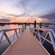 Sunset at Saratoga Australia — Stock Photo #64682065
