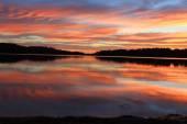Sunrise Reflections at Narrabeen, Australia — Stock Photo