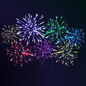 Firework night — Stock Vector