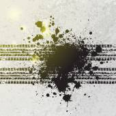 Ink blots tire track background — Vetorial Stock