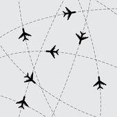 Airplanes — Wektor stockowy