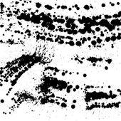 Grunge black blots — Stock Vector
