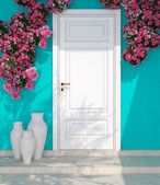 Entrance of a house. — Stock Photo